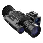 Sytong HT-60 3x-8x Laser Range Finder Digital Night Vision Rifle Scope